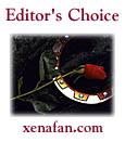 Tom's Xena Page/Eds Choice Award